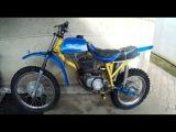 Обзор Самодельного Ендуро мотоцикла. Enduro homemade motorcycle