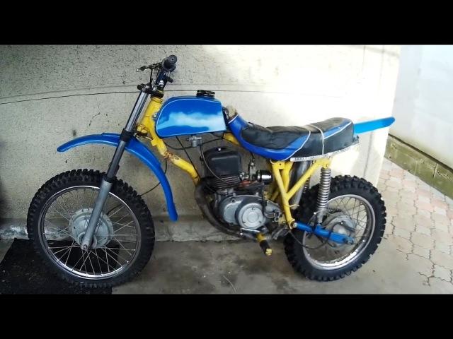 Обзор Самодельного Ендуро мотоцикла Enduro homemade motorcycle