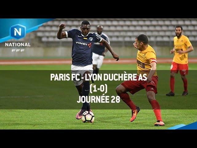 J28 : Paris FC - Lyon Duchère AS (1-0), le résumé