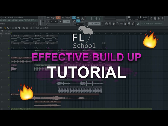 HOW TO MAKE: A simple but effective BUILD UP! - FL Studio tutorial