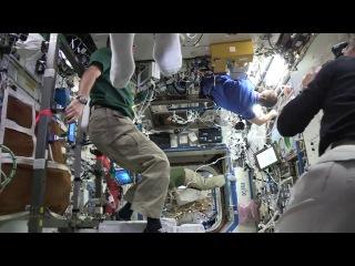 Mannequin challenge - International Space Station