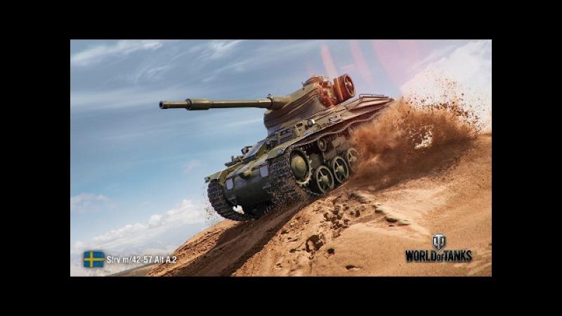 Мастер на все танки от PanzerMan79. STRV M/42-57 ALT A.2