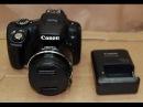 Canon PowerShot SX50 HS тест видео