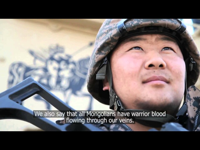 Warrior Blood The Mongolian Army in Afghanistan