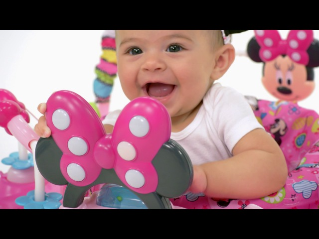 Minnie Mouse Activity Jumper