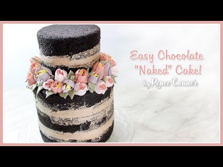 Chocolate Naked Cake Ft Russian Tips [vk.com/LakomkaVK]