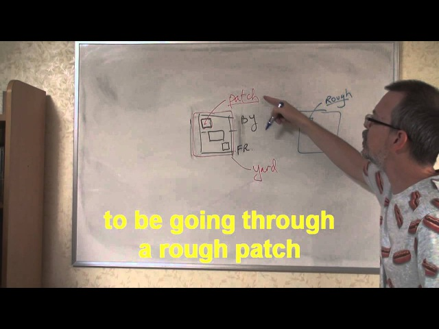 Learn English: Daily Easy English Expression 0273: going through a rough patch