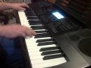 Celine Dion - My Heart Will Go On (к/ф Титаник) на синтезаторе Casio CTK-6200