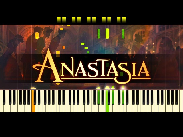Once Upon a December (Piano) ANASTASIA