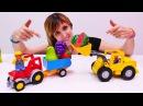 Веселая Школа с Машей Капуки Кануки Видео для детей Продаём фрукты