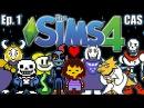 The Sims 4 - Undertale Theme - Ep. 1 (Create A Sim)