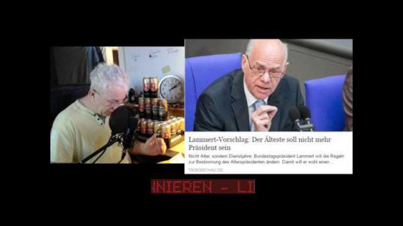 Norbert Lammert Bundestagspräsident und die AFD Phobie so nicht Ihr Polit Gauner