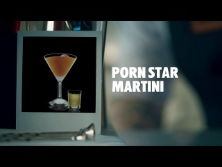 PORN STAR MARTINI DRINK RECIPE - HOW TO MIX