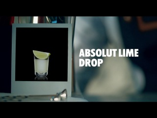 ABSOLUT LIME DROP DRINK RECIPE - HOW TO MIX