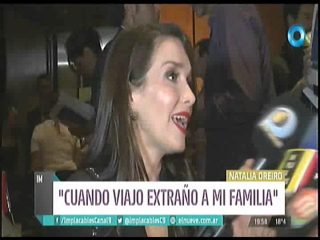 Natalia Oreiro entrevista en Implacables (02.04.2017)