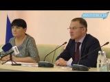 Пресс-конференция министра экологии Александра Когана