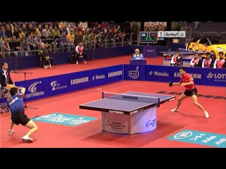 Ma Long vs Ryu Seung Min (World Team Cup) Стол как у нас!