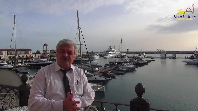 Усман Баратов Сочинском порту после Конференции по ШОС 19 Апреля 2016г