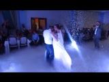 Очень красивый свадебный танец молодых!!!