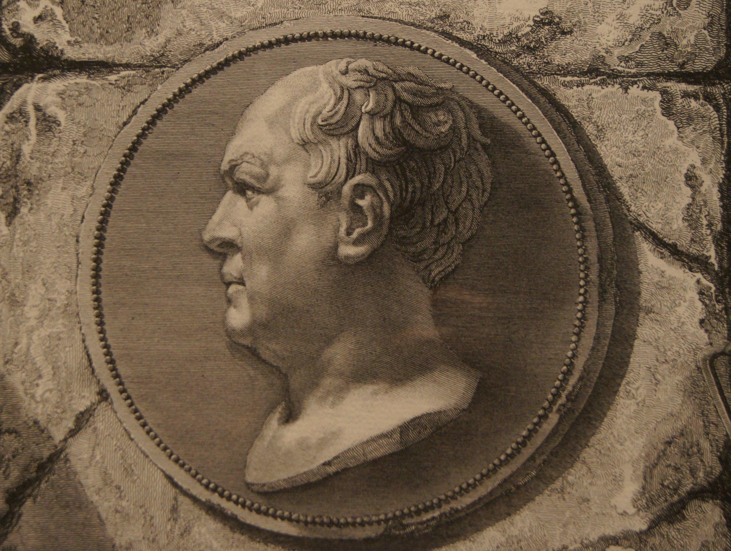 Франческо Пиранези. Портрет Джованни Пиранези. 1756