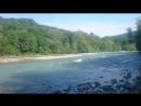 Горная река Белая ранним утром