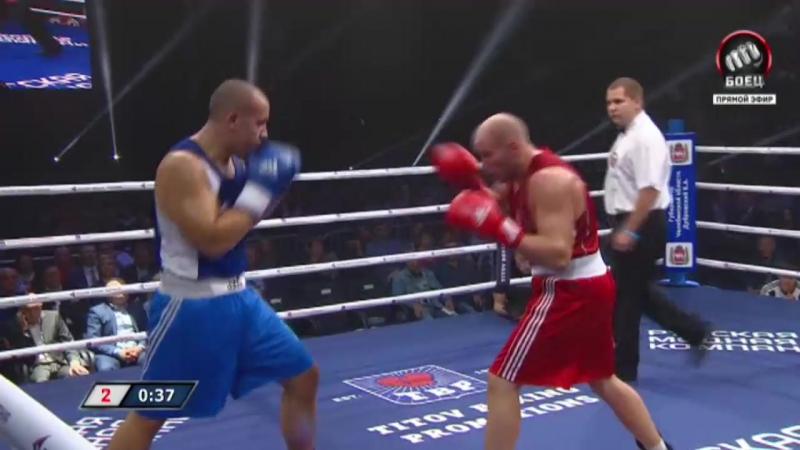 Антон Кудинов vs Симон Брочило