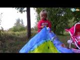 Ярослава и палатка Щенячий Патруль