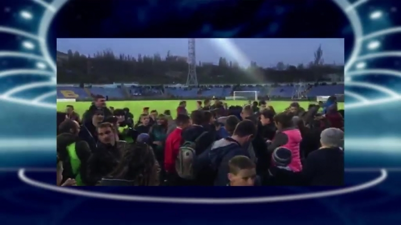 Як вітали футболістів Миколаєва