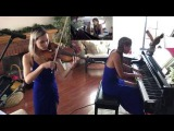 Justice - Safe and Sound  D.A.N.C.E.  Piano &amp Violin Cover Medley