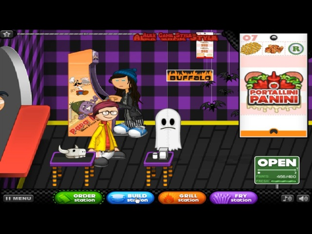 Papa's Cheeseria Day 50 Rank 32 Halloween (New Ecto Bread, Monster Muenster) Gameplay