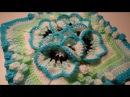 Crochet Flower 3D Granny Square