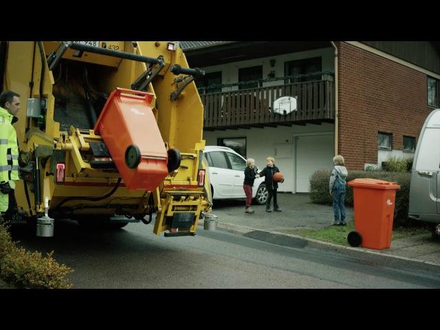 Беспилотные мусоровозы Volvo