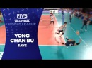 Great save by Libero Bu - World League 2017