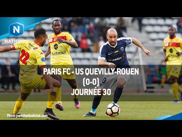 J30 : Paris FC : US Quevilly-Rouen (0-0), le résumé