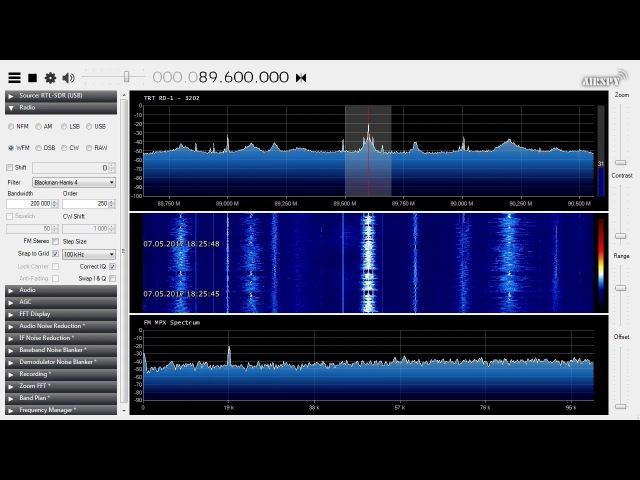 Es FM DX - 88.8, 89.6 MHz - TRT 1 Radyo Bir - Turkey - 1338-1778 km