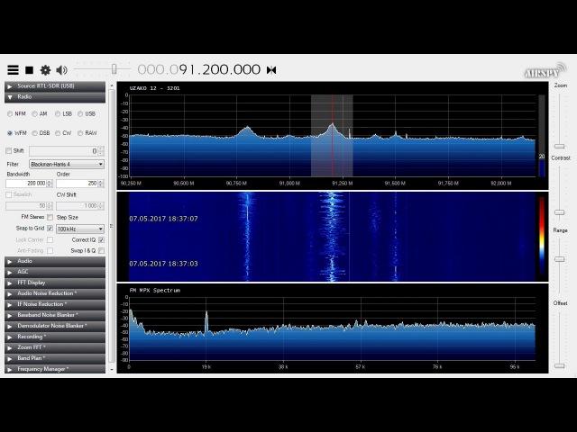 Es FM DX - 91.2 MHz - TRT FM - Izmir-Bayrakli, Turkey - 1750 km