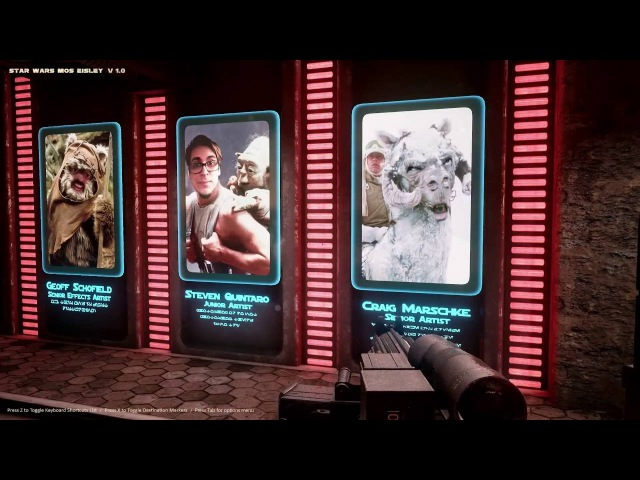 Unreal 4 Mos Eisley Fan Art part 5 - The Credits Room ( Shameless Plug ) » Freewka.com - Смотреть онлайн в хорощем качестве