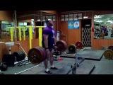 Sagatov Timur deadlift RAW 250kg*8@115kg