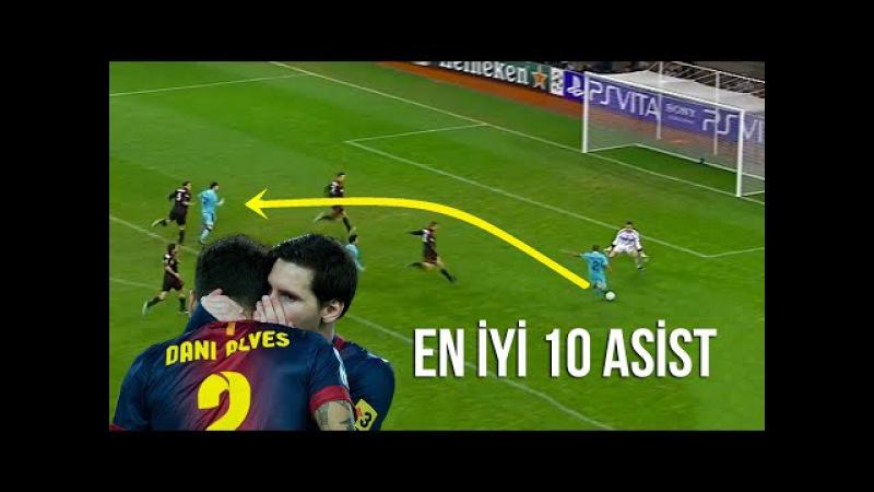 Dani Alves'in Messi'ye Yaptığı En İyi 10 Asist Türkçe Spiker • HD