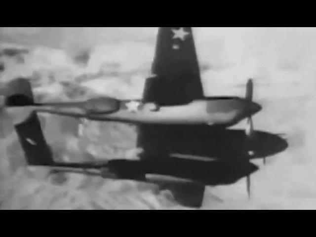 Lockheed P 38 Lightning Angel in Overalls circa 1942 War Department War Film No 53 WWII