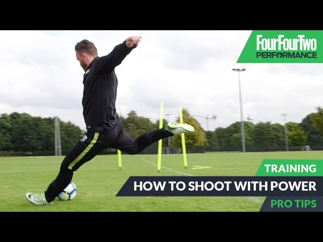 How to shoot with power | Pro level soccer training