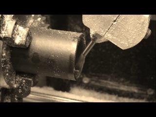 Фрезеровка узора внутри обручального кольца