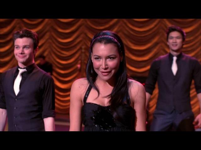 Glee - pretending/light up the world.
