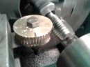 Нарезание червячного колеса на токарном станке