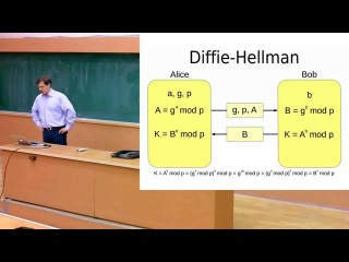 Лекция №4: Асимметричные шифры