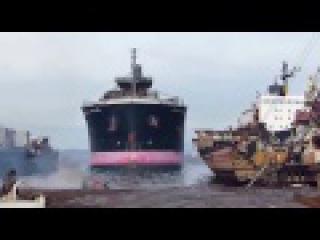 В последний путь Корабли выбрасываются на берег