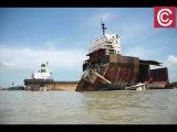 Кладбище кораблей в Читтагонг Бангладеш