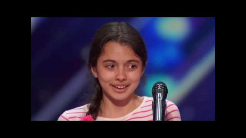 America`s Got Talent 2016. Laura Bretan поразила американское шоу талантов, исполнив арию!