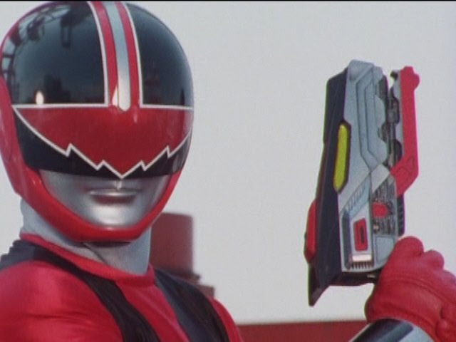 Power Rangers Time Force - Quantum Ranger's First Fight (The Quantum Quest Episode).
