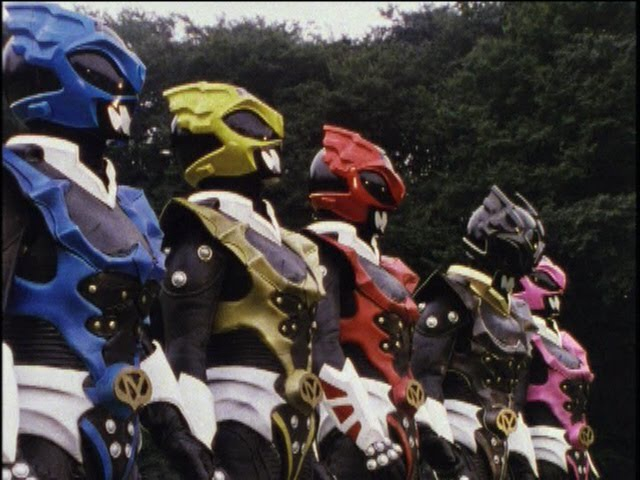 Power Rangers in Space - Power Rangers vs Psycho Rangers First Fight (Rangers Gone Psycho).